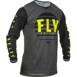 Fly Kinetic K220 2020 Jersey Black/Grey/Hi-vis