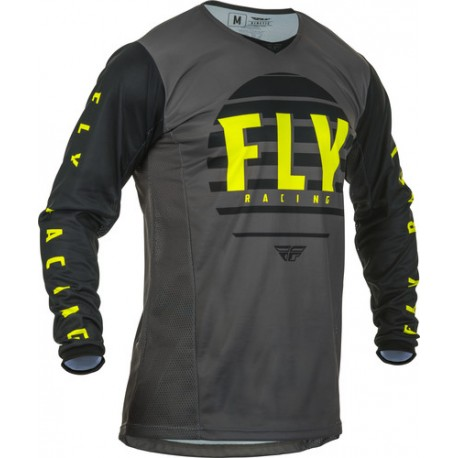 Fly Kinetic K220 2020 Jersey Black/Grey/Hi-vis