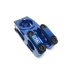 SD CNC Stem Steerer Blue