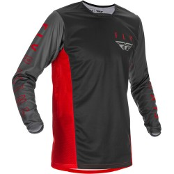 Fly Kinetic K121 Jersey 2021 Red/Grey/Black