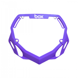 Box Phase 1 number plate Purple