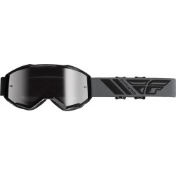 Fly Youth Zone Goggle Black W/Silver Mirror Lens