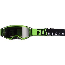 Fly Zone Pro Goggle Black/Green W/Dark Smoke Lens