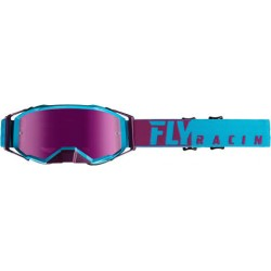 FlyZone Pro Goggle Purple/Light Blue W/Pink Mirror Lens