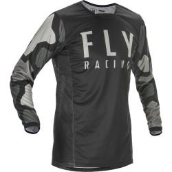 Fly Kinetic K221 Jersey 2021 Black/Grey