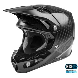FLY Formula Solid Helmet Black Carbon