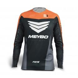 Meybo Race Jersey V3 SlimFit Orange