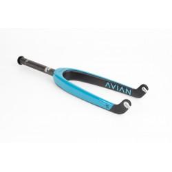 """AVIAN Versus Pro Fork Tapered 10mm Matte Teal 24"""""""