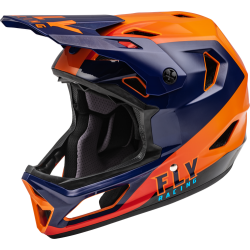 Fly Rayce 2021 Helmet Navy/Orange/Red