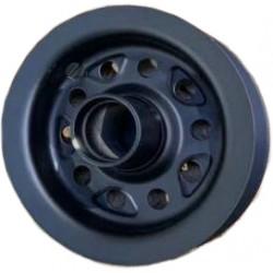 Wildcat Mini BMX Steel Rear Wheel Black