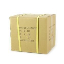 SD Bmx Race V2.0 Tube Schrader Valve 35mm, BOX of 50pcs