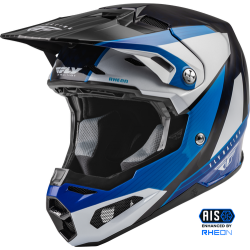 Fly Formula Carbon Prime Helmet 2022 Blue/White/Blue Carbon