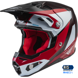 Fly Formula Carbon Prime Helmet 2022 Red/White/Red Carbon