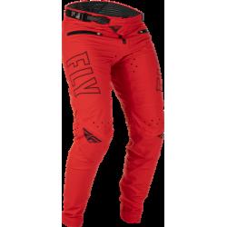 Fly Kinetic Radium Bicycle Pants 2022 Red/Black