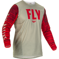 Fly Kinetic Wave Jersey 2022Light Grey/Red