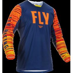 Fly Kinetic Wave Jersey 2022Navy/Orange