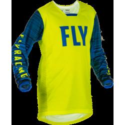 Fly Kinetic Wave Jersey 2022Hi-Vis/Blue