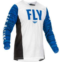 Fly Kinetic Wave Jersey 2022White/Blue