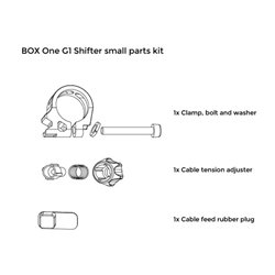 Box one. PushPush Shifter Small Parts Kit