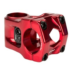 Box One center clamp stem 31.8mm bar bore X Red