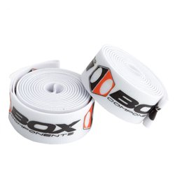 Box Ratian rim strap pair x white  24' (520mm.) x 14mm