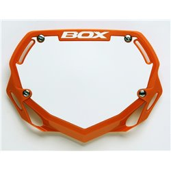Box Phase 1 number plate  Orange