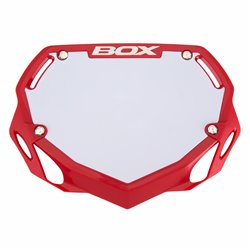 Box Phase 1 number plate  Red