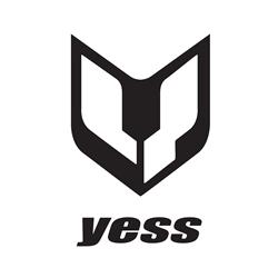 Yess Sei pro disc cassette hub set F+R 36h  black