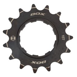 "Box Pinion 3/32""CNC Crmo Cog 1xT black"