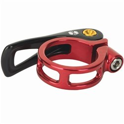 Box One QR seat clamp 31.8  Red