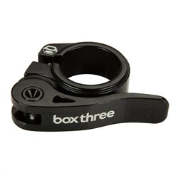 Box Three Quick Release Seatclamp 25.4mm black