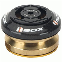 """Box Glide carbon integrated headset 1 1/8""""  Black"""