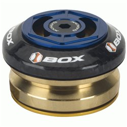 """Box Glide carbon integrated headset 1 1/8""""  Blue"""